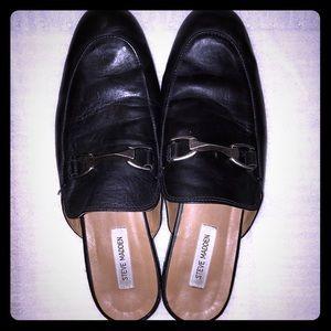 Men's Steve Madden Fievel Black Mule Loafers